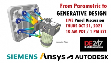 OCT. 21 - FREE WEBINAR: How to Transition from Parametric to GD (Generative Design)