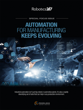 Automation for Manufacturing Keeps Evolving