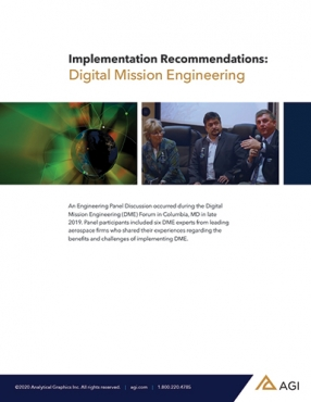 Digital Mission Engineering (DME) Implementation Guide