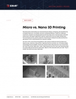 Micro Versus Nano 3D Printing