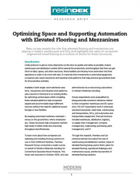 Optimizing Automation and Warehouse Space with Elevated Flooring and Mezzanines