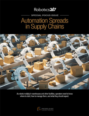 Automation Spreads in Supply Chains