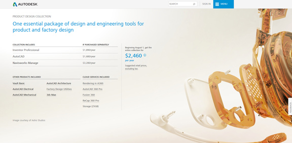 Autodesk Replaces Suites With Industry Collections Rebrands Memento As Remake Digital Engineering 24 7